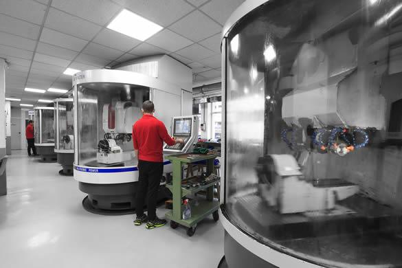 Herramientas de mecanizado y corte especiales para sectores industriales